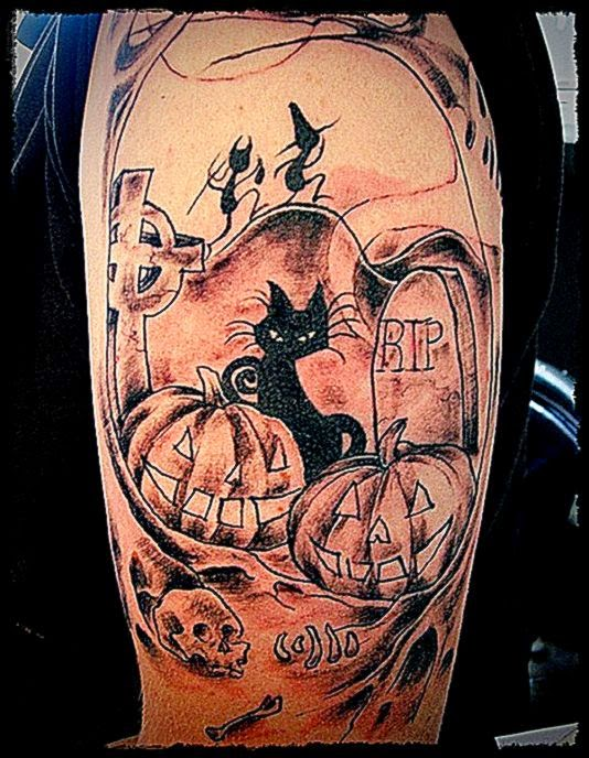 Halloween Tattoos Designs And Ideas  Page 5