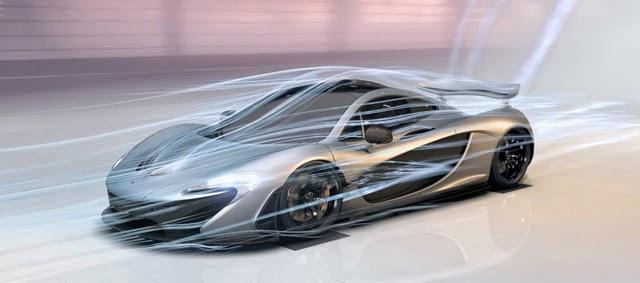 McLaren P1 Areodynamic