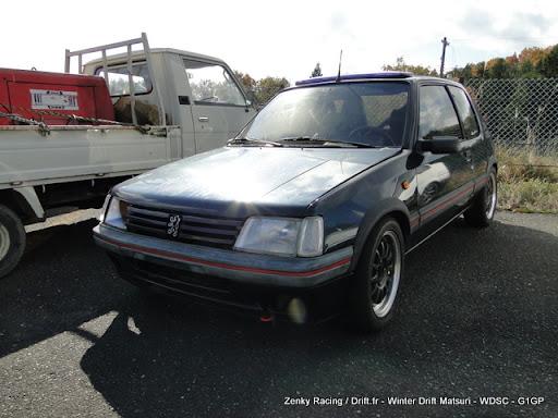 Peugeot 205 GTI at Japan