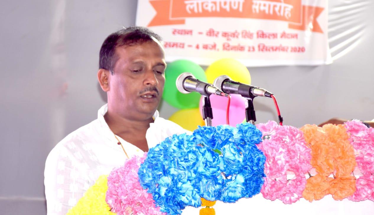 जगदीशपुर: नगर में 21. 64 करोड़ की योजनाओं का लोकार्पण,विकास कार्यो को बड़े स्क्रीन पर नगरवासियों ने देखा