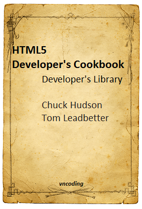 HTML5 Developers Cookbook