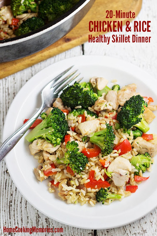 20-Minute-Chicken-and-Rice-Skillet-Dinner-Recipe