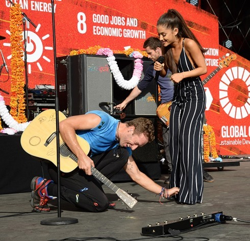 Coldplay 2015 Global Citizen Festival-23