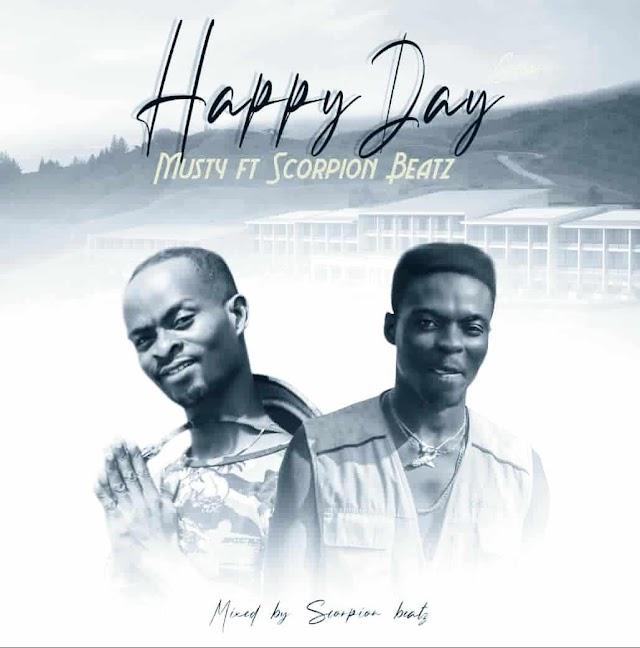 Musty - Happy Day Cover Ft. Scorpion Beatz -(Prod. By Scorpion Beatz).