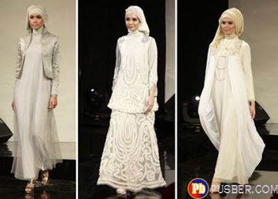 Model Gaun Pesta Muslim Terbaru