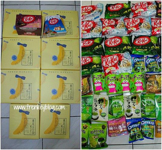 Oleh-oleh Tokyo Banana, Kitkat, Chocobi