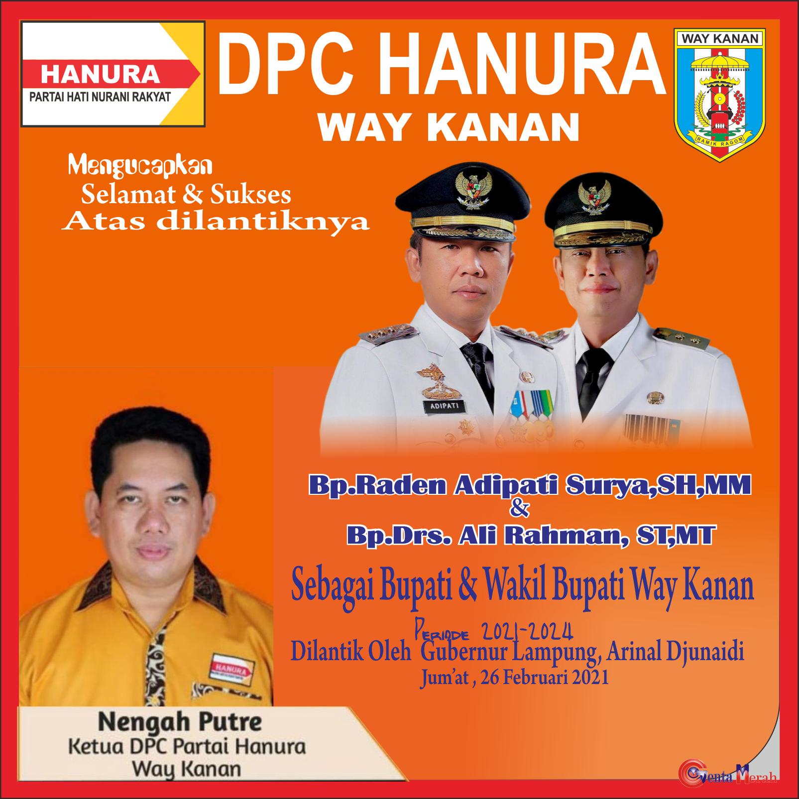 DPC Hanura Way Kanan