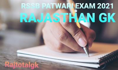 Patwari exam gk 2021