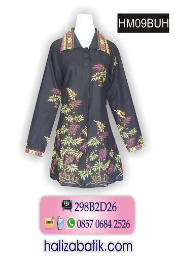 model atasan batik modern, model batik modern, grosir pakaian wanita