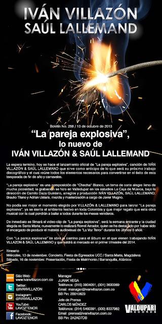 ivan villazon la pareja explosiva