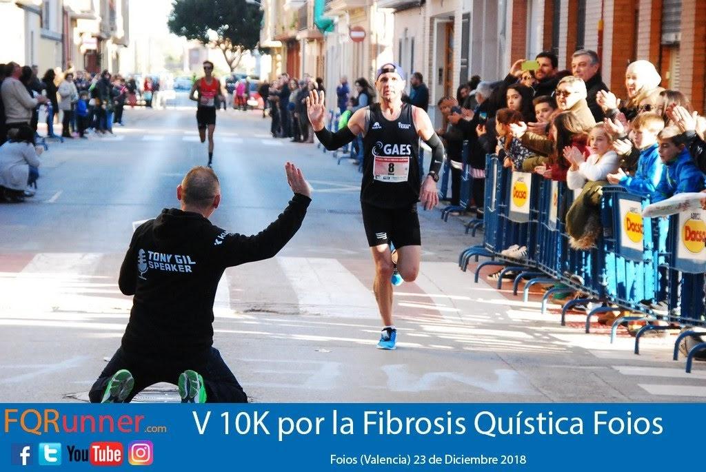 David Aparicio Fuentes del Gaes Running Team