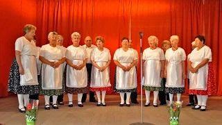 Kaposfő Nyugdíjas Klub Énekkara - Balatoni népdalok video