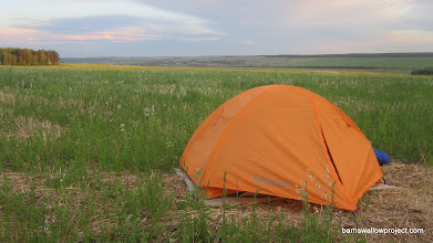 Photo: Our campsite just west of Irkutsk