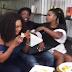 BBNaija 2019:- Evicted Housemates Isilomo, Ella And Tuoyo Hang Out Together (Photos)
