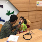 Medical Check-up of Sr Kg Section at Witty World, Chikoowadi (2018-19)