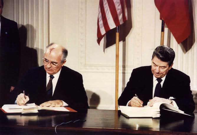 1987 INF Treaty was signed