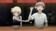 Kore wa zombie desu ka, ayumu and yuki yoshida eat ramen