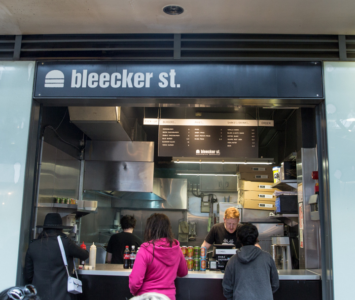 photo of the outside of Bleecker St.