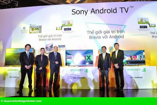 """Hình 1: Sony trình làng """"siêu phẩm"""" TV Bravia 4K tại Việt Nam"""