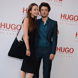 WWW.ENTSIMAGES.COM -  Fenton Bailey   attending  HUGO: RED NEVER FOLLOWS - private view / party of exhibition to celebrate 20th anniversary of Hugo Boss, featuring the brand's RED NEVER FOLLOWS project which saw it collaborate with 20 'urban creatives' from around the world July 30th 2013                                                     Photo Mobis Photos/OIC 0203 174 1069