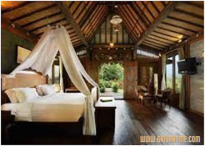 Desain Kamar Klasik Bali