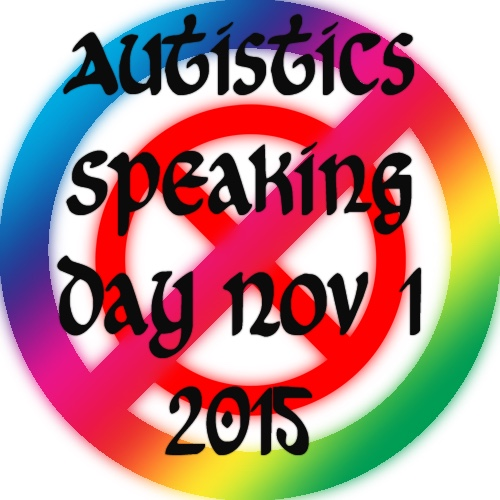 Autistics Speaking 2015 Participant