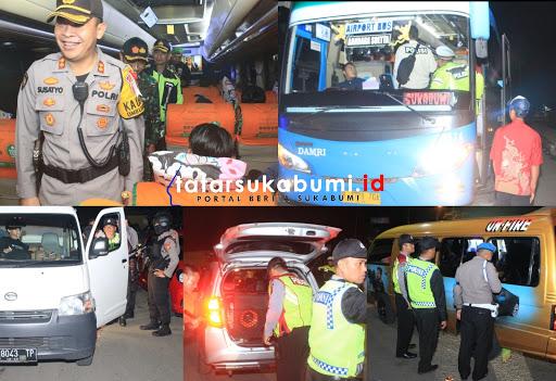 Operasi Gabungan TNI Polri Antisipasi Mobilisasi Massa Jelang Penetapan Hasil Pemilu 2019 oleh KPU