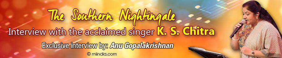 KS Chitra Interview by Miindia
