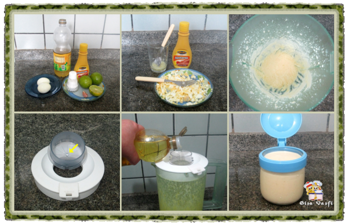 Maionese de ovo cozido