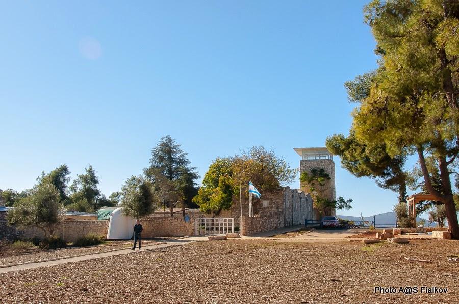 Форпост Бирия. Экскурсия по Верхней Галилее. Гид в Израиле Светлана Фиалкова.