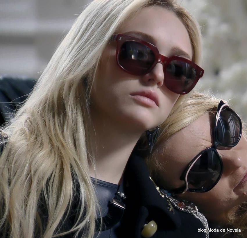 moda da novela Geração Brasil - óculos da Megan