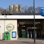 Gare RER d'Etampes et Tour de Guinette