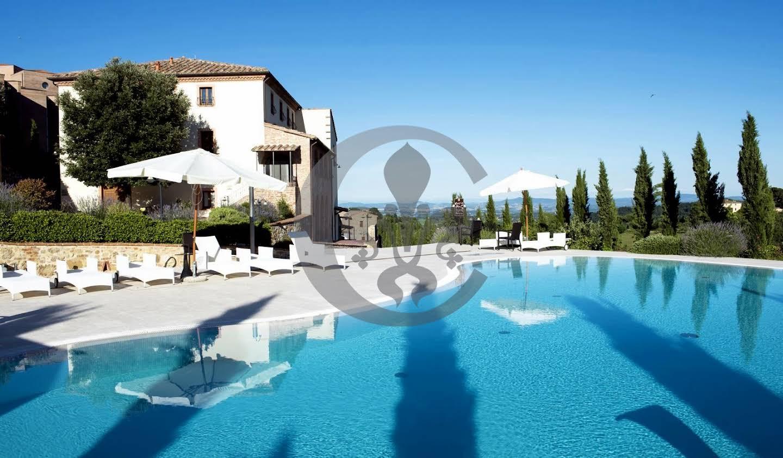 Hôtel avec jardin Montepulciano