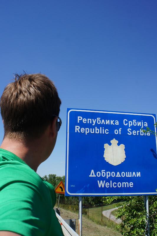 Willkommen in Serbien