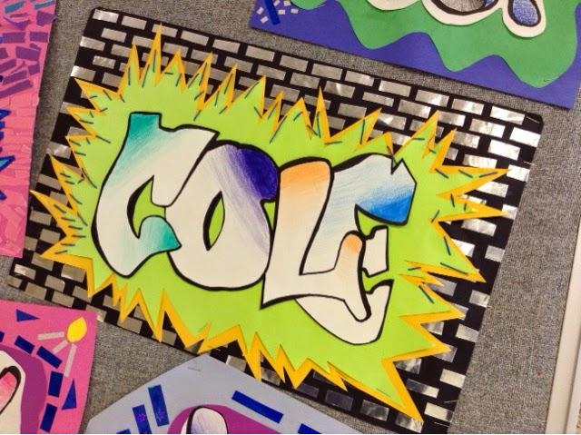 Art At Becker Middle School Graffiti Mola Names