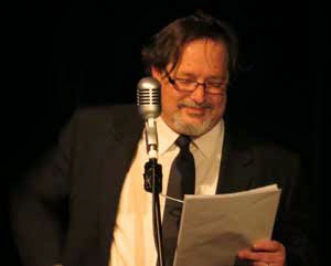 Simon Lenthen as Harry Secombe in The Goon Show LIVE!