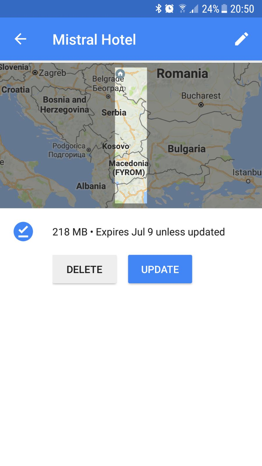 Download routes for offline use - Google Maps Help