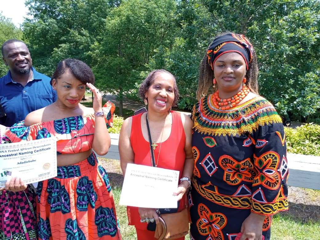 Eze Chukwuemeka Eri & Nnia Nwodo At World Igbo Festival In US