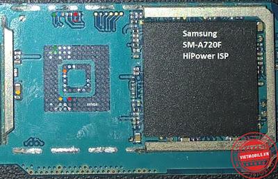 ISP PinOut Samsung SM-A720F