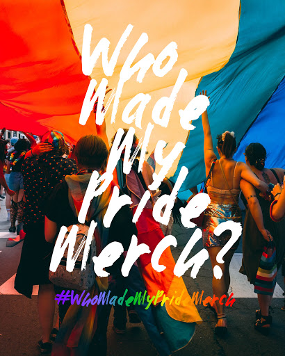 Who Made my Pride Merch?
