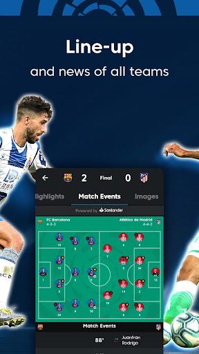 La Liga - Live Soccer Scores, Goals, Stats & News Screenshots 7