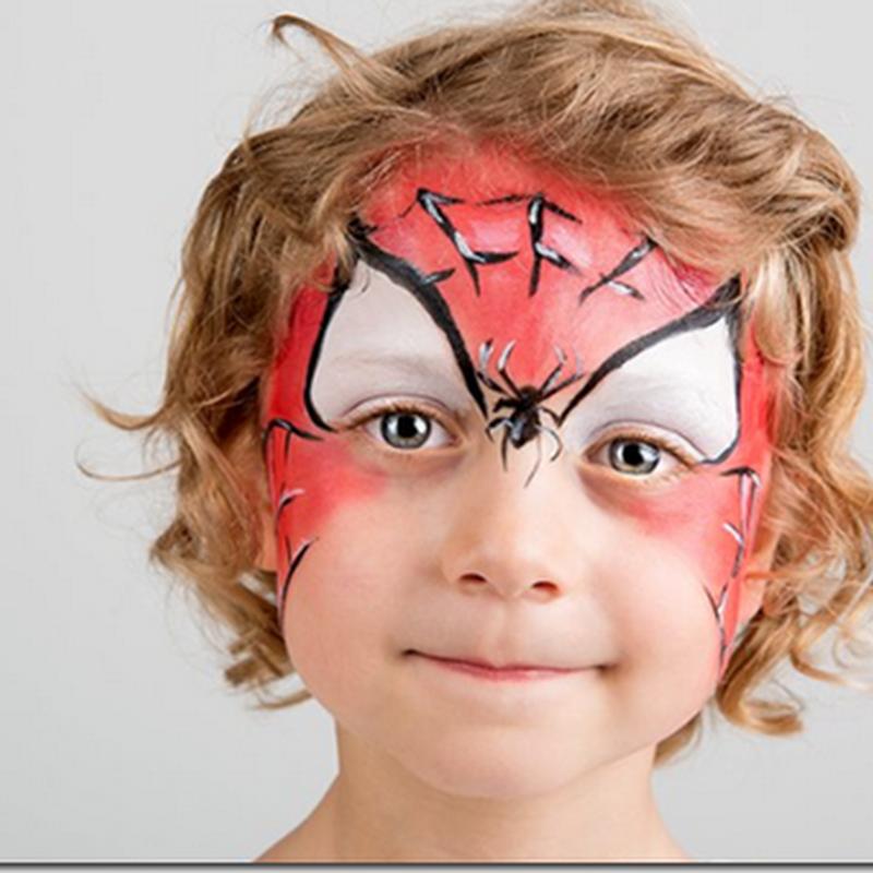 Cómo hacer un maquillaje de araña para niña