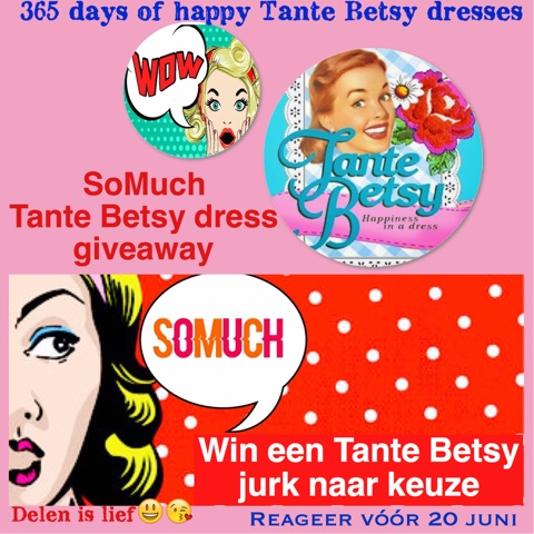 SoMuch Tante Betsy dress giveaway uitslag