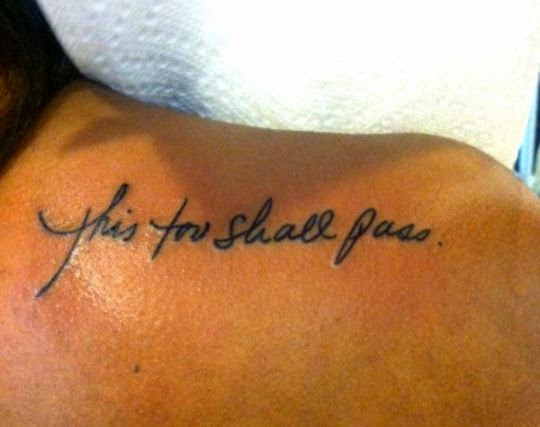 Small Tattoo Sayings For Girls  40 Exciting Tattoo Quotes For