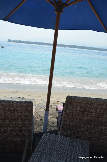 Beach time at Gili Air