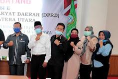 Anggota DPRD Sumut Kunker ke Kampus IV UINSU Tuntungan