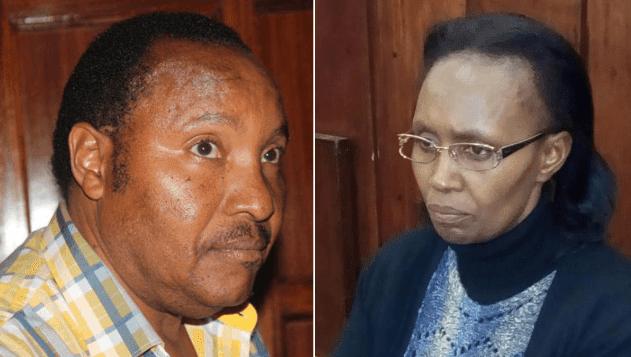 Ferdinand Waititu and Susan Waititu Ndung'u.  PHOTO | RMS