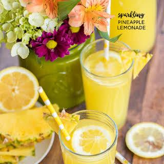 Sparkling Pineapple Lemonade.