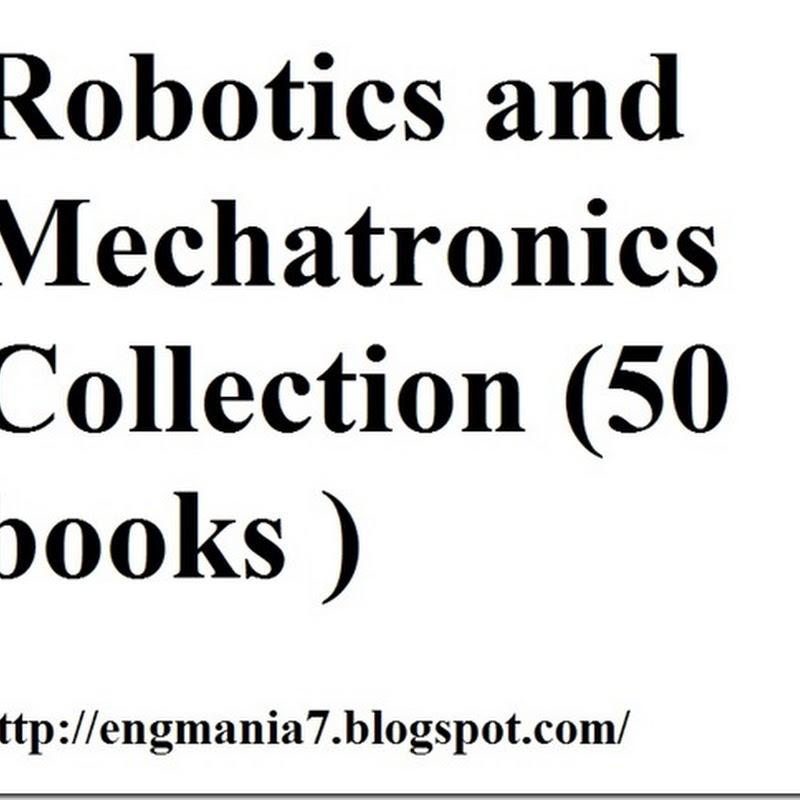 Robotics and Mechatronics Collection torrent