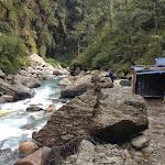 Hot Springs along Modi Khola